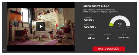 Campaña Crowdfunding Migranodearena