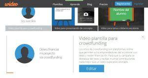 Template Video Crowdfunding
